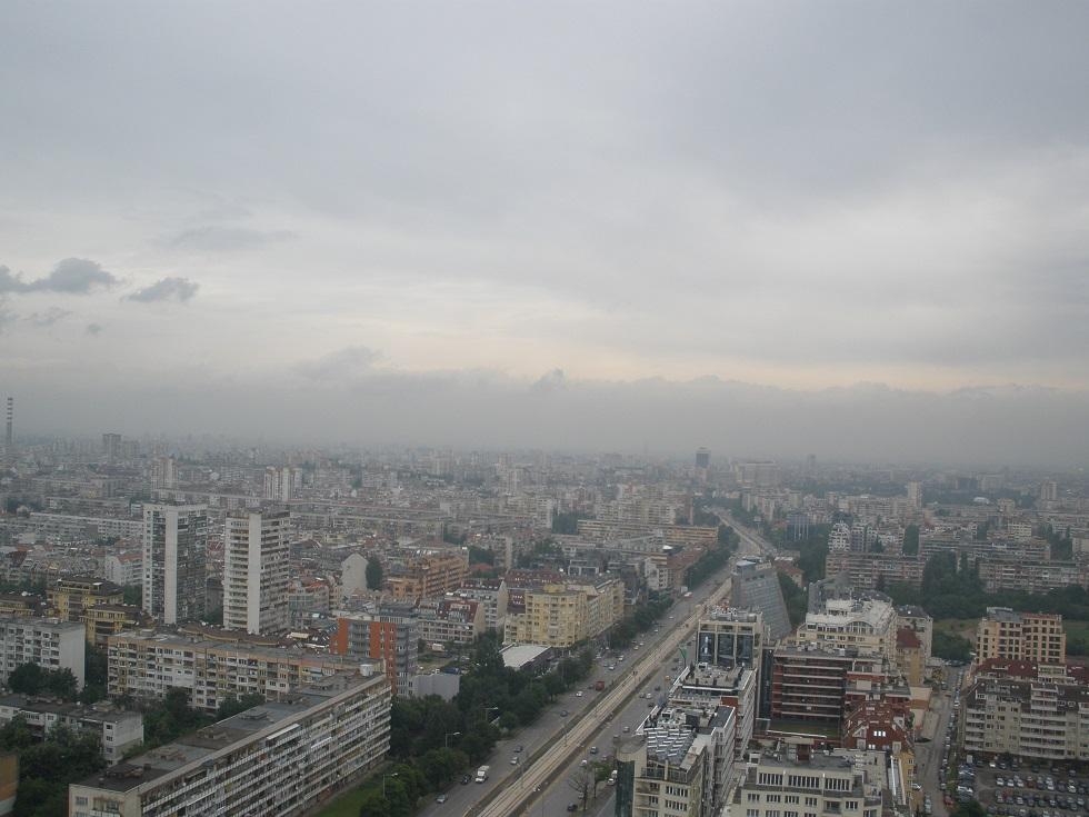 поглед от покрива